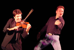 Country Music Showcase with Brian on fiddle